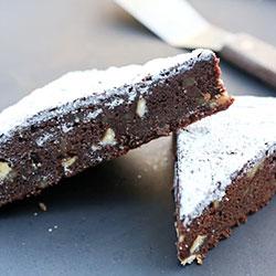 Double chocolate walnut brownie thumbnail