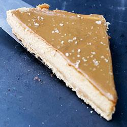 Salted caramel cheesecake slice thumbnail