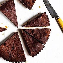 Caramel brownie tart thumbnail