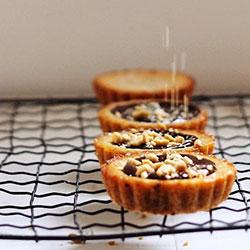 Chocolate peanut butter tart thumbnail
