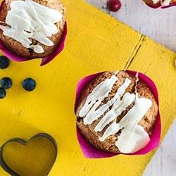 Berry white chocolate muffins thumbnail