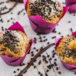 Chocolate chips ganache muffins thumbnail