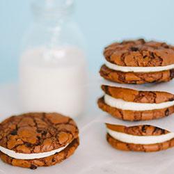 Vanilla bean brookie cookie - box of 6 thumbnail
