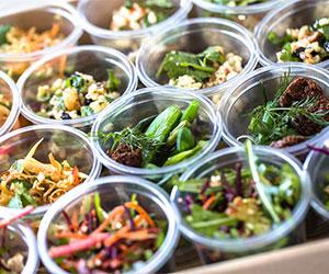 Mixed salad cups thumbnail