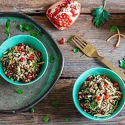 Zucchini grain salad thumbnail