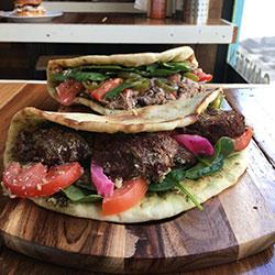 Lebanese manoush zatar bread fold overs thumbnail