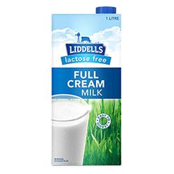 Lactose free milk - Liddells thumbnail