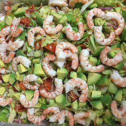 Prawn and avocado salad thumbnail
