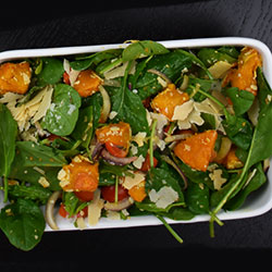 Pumpkin and pine nut salad thumbnail