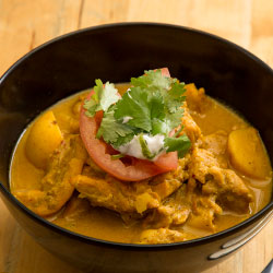 Yellow chicken curry thumbnail