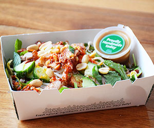 Asian duck noodle salad thumbnail