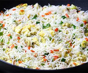 Vegetarian fried rice thumbnail