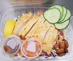 BBQ chicken salad thumbnail
