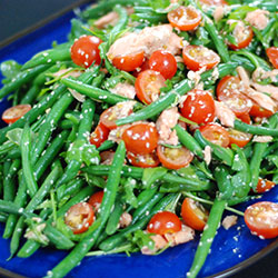 Green beans and trout salad thumbnail