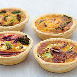 House made individual quiche thumbnail