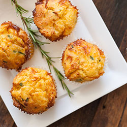 Assorted savoury muffins thumbnail
