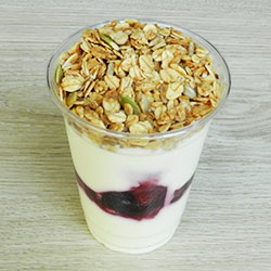 Fruit and yoghurt cup - 285g thumbnail