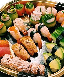 Premium sushi platter thumbnail