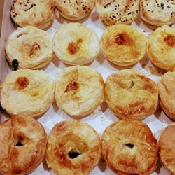Mini pies and sausage rolls platter thumbnail