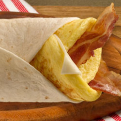 Bacon and egg wrap thumbnail