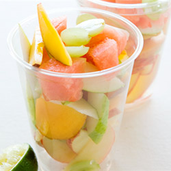 Fruit salad cup - 4oz thumbnail