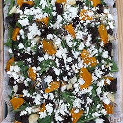 Roast pumpkin salad thumbnail