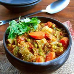 Mixed vegetable curry thumbnail