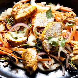 Chicken tikka salad - serves 2 thumbnail