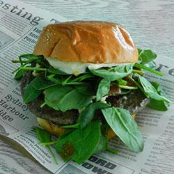 Lamb burger thumbnail