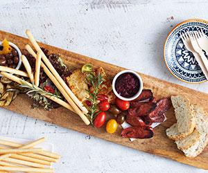 Mediterranean feast platter thumbnail