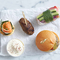 Gluten free canape package - hot and cold thumbnail