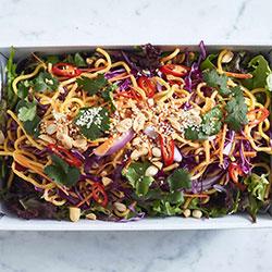 Malaysian satay noodle salad thumbnail