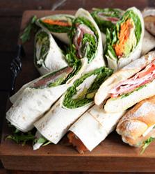 Fresh gourmet wraps thumbnail