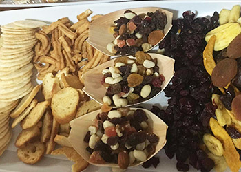 Dried fruit and cracker platter - Serves 6 to 8 guests thumbnail