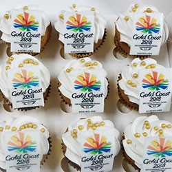 Edible logo charge per cupcake thumbnail