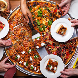 Popular party pizza - 24 inches - serves 6 to 8 thumbnail
