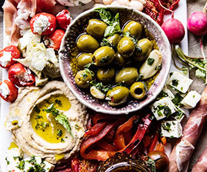 Antipasto platter - serves 12 to 15 thumbnail