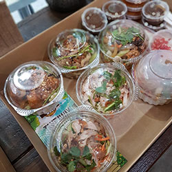 Box 3 - Vietnamese salad and Vermicelli noodle salad thumbnail