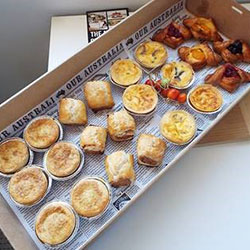 Savoury pastry platter - serves 7 to 8 thumbnail