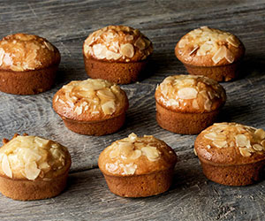 Almond friands thumbnail