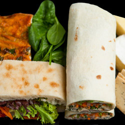 Wrap, Turkish bread, frittata, cheese and lavosh package thumbnail