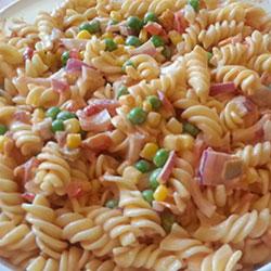Mexican pasta salad platter thumbnail