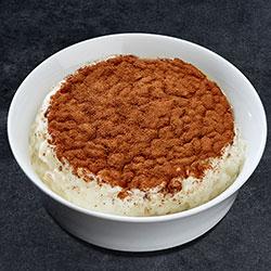 Creamy rice pudding thumbnail