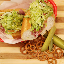 Fresh hoagie roll lunch box thumbnail