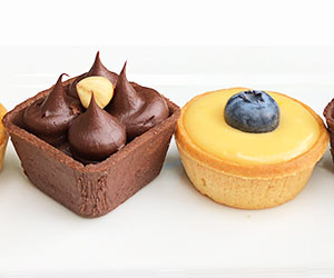 Assorted homemade tart - mini thumbnail