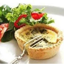 Vegetarian quiche thumbnail