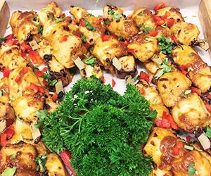 Chicken satay skewer - mini thumbnail