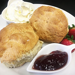 Scone with jam thumbnail
