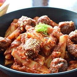 Meatball pasta thumbnail
