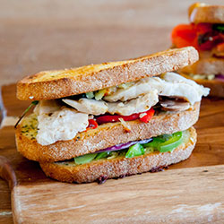 Chicken club sandwich thumbnail
